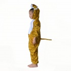 Kids Tiger Polyester Costume for Halloween - Yellow