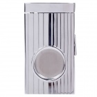 High Quality Rectangle Stainless Steel Cigar Cutter - Silver