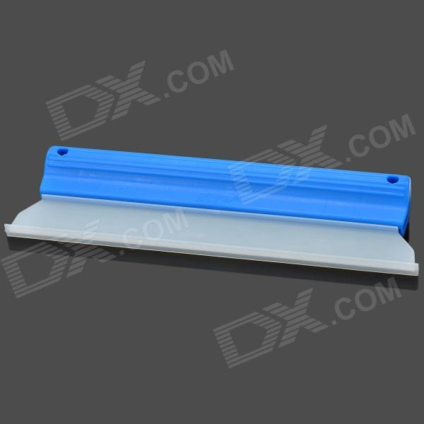 KTM Silicone Car Surface Water Wiper Scraper Tool - Blue + White