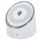 HB HB-8 5V 1000mA Qi Wireless Charger for Cellphones - White