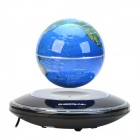 CHEERLINK 106mm UFO Maglev Floating Globe w/ Anion Generator - Blue + Black (US Plug / AC 100~240V)