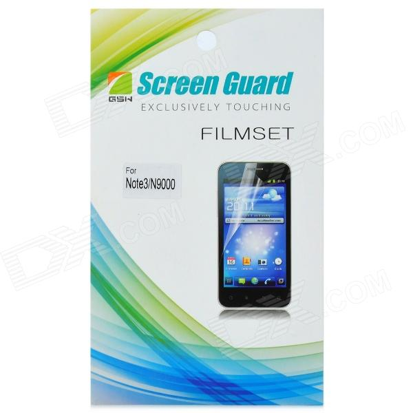 Protective Glossy Screen Guard for Samsung N9000 - Transparent головка торцевая jtc с насадкой philips 1 4 х ph3 длина 37 мм jtc 23903