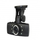 "ALADDN A560 1.5"" TFT 5.0 MP CMOS Car DVR Camera w/ 6-LED Night Vision - Black"