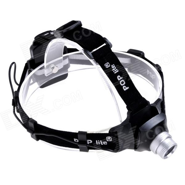 POP lite H3 160lm 1-Mode Zooming Dimming Headlamp w/ Cree XR-E (3 x AAA) yp 3005 450lm 3 mode white zooming headlamp black 4 x aa