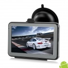"IPU IPM5640AV 5"" MID Capacitive Android 4.0 GPS Navigator w/ AV-IN, 512MB RAM, 8GB Russia Map"