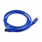 USB 3.0 A Male to USB 3.0 B Male Extension / Data Transfer / Printer Cable - Blue (150cm)