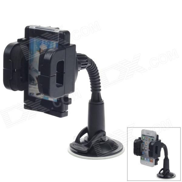 FLY S2121W-D Universal 360 Degree Rotation Automatic Car Holder Mount for MP4 / Mobile / GPS / PAD baseus universal 360 degree magnetic car mount holder