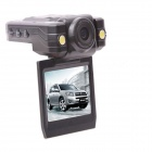 "ALADDN UF-005B 1.8"" TFT CMOS 3.0 MP 120 Degree Wide Angle Car DVR Camcorder - Black"