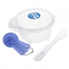 SB6115 Multi-function DIY Facial Mask Maker Set  - Blue + Transparent