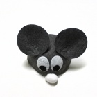 Cosplay Animal Mouse Style Children's Hat for Halloween - Grey + White + Black