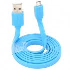 USAMS USB Male to Micro USB Male Cable  - Blue (100cm)