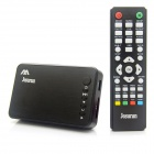Mini 1080P Full HD Media Player w/ HDMI / USB / SD / AV / VGA - Black