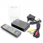 mini reproductor multimedia Full HD 1080P con HDMI / USB / SD / AV / VGA - negro
