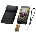 "RZ80 1.9"" LCD Digital Laser Distance Meter / Rangefinder - Black + Yellow (2 x AAA)"