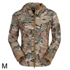 ESDY ESDY-0017 Outdoor Sports Waterproof Warm Polyester Jacket for Men - Camouflage (M)
