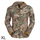 ESDY ESDY-0017 Outdoor Sports Waterproof Warm Polyester Jacket for Men - Camouflage (XL)
