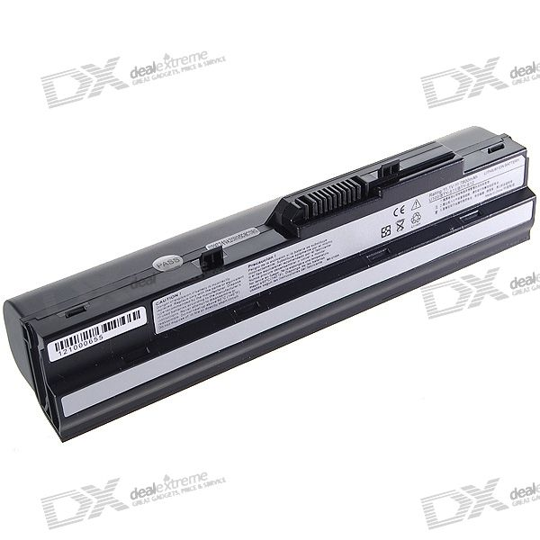 9-Cell 7800mAh Replacement Laptop Battery for MSI U100 (Black)