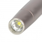 OLIGHT O'PEN Pen Style 180lm 3-Mode White Tactical Flashlight w/ Cree XP-G2 R5 - Dark Brown (2xAAA)