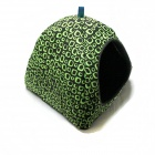 Stylish Circle Pattern Cotton Dog Cat Pet Net - Black + Green + Brown