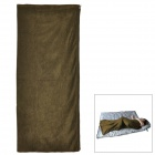 Ryder D1008 Outdoor Camping Polar Fleece Sleep Bag - Army Green
