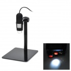 Tragbare 10X / 800X USB Digital-Mikroskop w / 8-LED
