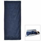 Ryder D1008 Outdoor Camping Polar Fleece Sleep Bag - Dark Blue