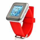 "J2 GSM Watch Phone w/ 1.44"" Screen, A-GPS, Bluetooth, Quad-Band, Java and FM - Red"