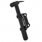 Mini Bicycle Mounted Tire Air Pump - Black