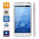 "A199 Android 4.2 Dual-Core WCDMA Bar Phone w/ 5"", Wi-Fi, GPS and 5.0MP Camera, FM - White + Silver"