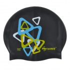 Wave SC4602P Silicone Swimming Cap - Black