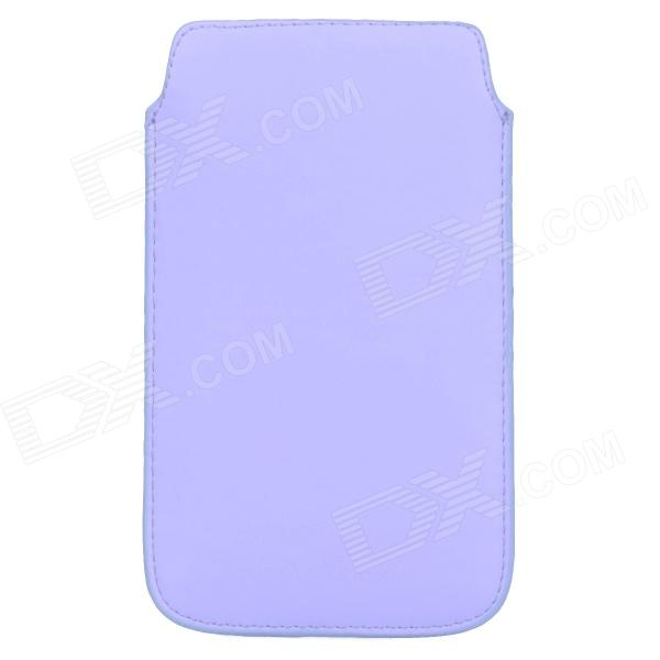 Protective PU Leather Pouch Bag Case for Samsung Galaxy Note 3 N900 - Purple