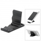 Universal Mini Folding Cell Phone Plastic Stand - Black