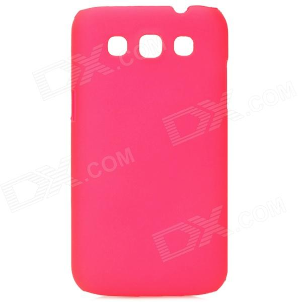 Protective Plastic Matte Back Case for Samsung Galaxy WIN / i8552 / i8550 - Deep Pink стоимость