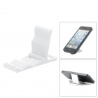 Universal Mini Folding Plastic Cell Phone Stand - White