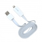DiscoveryBuy Lightning 8-Pin / Micro USB Male to USB Male Data Cable for Samsung / iPhone 5 - White