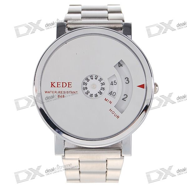 Beautiful Fashion Twist Watch (Silver)