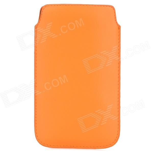 Protective PU Leather Pouch Bag Case for Samsung Galaxy Note 3 N900 - Orange