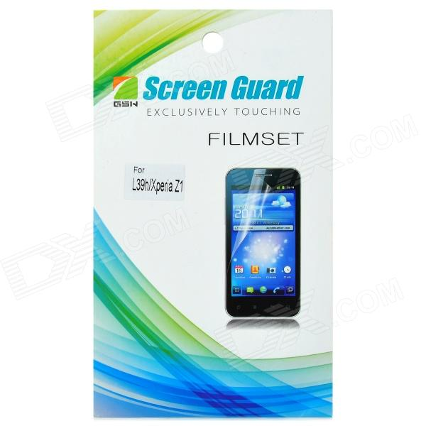 Protective Glossy Screen Protector for Sony L39H - Transparent