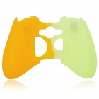 Protective Silicone Cover Case for Xbox 360 Controller - Green + Orange