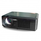EPV5005H 640 x 480 1800lm Home Theater LED Projector w/ HDMI + VGA + AV in/out + USB - Black