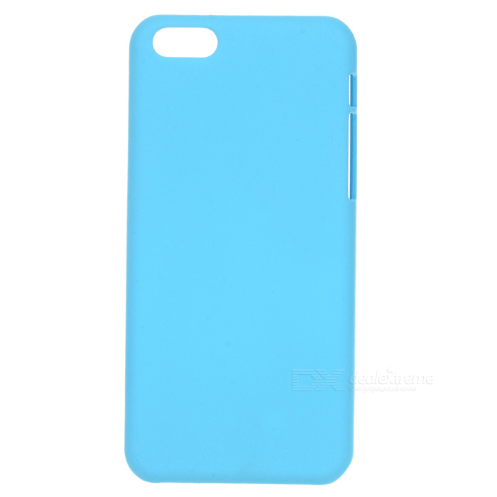 Stylish PC Back Case for Iphone 5C - Light Blue 100pcs lot ziplock package packaging bag for iphone se 5s 5 5c 4s cases size 15 x 8 3cm