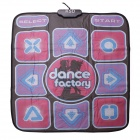 KSD CT200 USB / TV 2-in-1 Sports Single Dance Pad - Multicolor