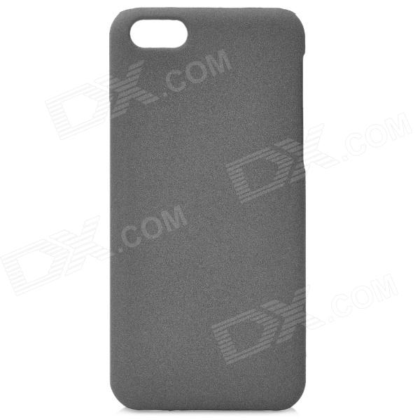 Protective PC Back Case for Iphone 5C - Grey mercury goospery milano diary wallet leather mobile case for iphone 7 plus 5 5 grey