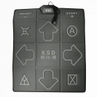 KSD  CT202 Card Plug-in USB/TV 2-in-1 Fitness Sports Single Dance Pad w/ 32-bit Game - Multicolor