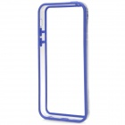 Stylish Plastic + TPU Bumper Frame Case for Iphone 5C - Blue