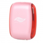 """I-Fresh"" Electronic Mask Anion Generator Air Freshener - Pink + Red"