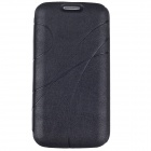 Stylish Protective PU Leather Case Cover for Samsung Galaxy S4 i9500 - Black