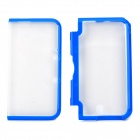 Protective TPU Upper + Lower Case for Nintendo 3DS LL / 3DS XL - Blue