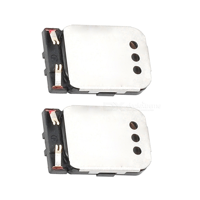 Replacement Built-in Loudspeaker Module for PS Vita - Black + Silver (2 PCS)