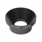 M-16 Universal 16x Macro Magnet Mount Conversion Lens for Mobile phone / Digital Camera - Black